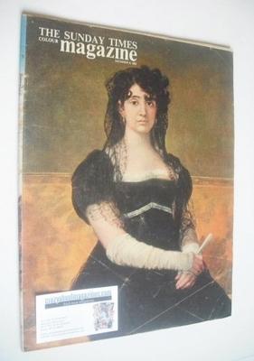 <!--1963-12-08-->The Sunday Times magazine - Dona Antonia Zarate cover (8 D