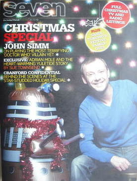 Seven magazine - John Simm cover (20 December 2009)