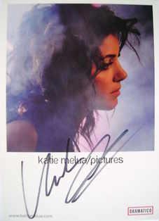 Katie Melua autograph