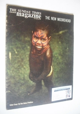 <!--1963-10-20-->The Sunday Times magazine - The New Guinea Primitives cove