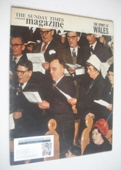 The Sunday Times magazine - The Spirit Of Wales cover (17 November 1963)