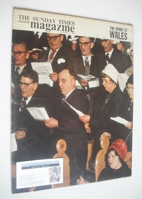 <!--1963-11-17-->The Sunday Times magazine - The Spirit Of Wales cover (17