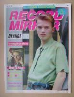 <!--1983-06-18-->Record Mirror magazine - Edwyn Collins cover (18 June 1983)