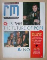 <!--1986-12-20-->Record Mirror magazine - 20 December 1986