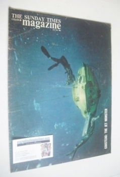 The Sunday Times magazine - Cousteau, The Jet Monster cover (28 July 1963)