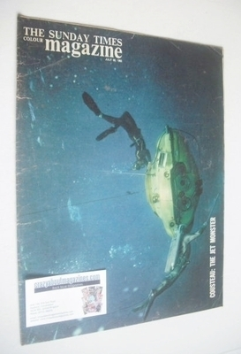 <!--1963-07-28-->The Sunday Times magazine - Cousteau, The Jet Monster cove