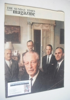 The Sunday Times magazine - The Men Behind Macmillan cover (18 August 1963)