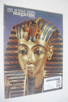 The Sunday Times magazine - Tutankhamen cover (8 September 1963)