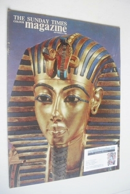 <!--1963-09-08-->The Sunday Times magazine - Tutankhamen cover (8 September
