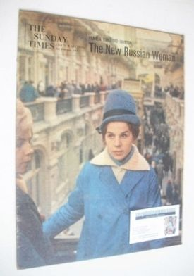 <!--1963-02-03-->The Sunday Times magazine - The New Russian Woman cover (3