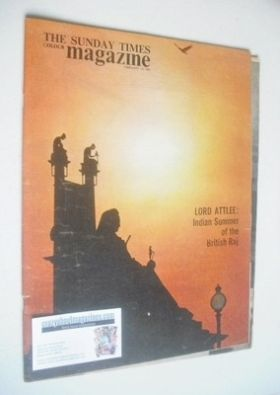 <!--1963-02-10-->The Sunday Times magazine - Indian Summer cover (10 Februa