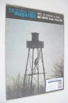 The Sunday Times magazine - Communist Watchtower cover (3 March 1963)
