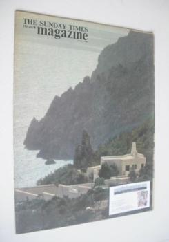 The Sunday Times magazine - Mediterranean Coastline cover (7 April 1963)