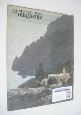 <!--1963-04-07-->The Sunday Times magazine - Mediterranean Coastline cover