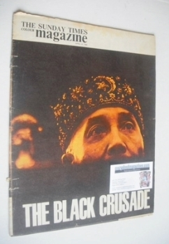 The Sunday Times magazine - The Black Crusade cover (21 April 1963)