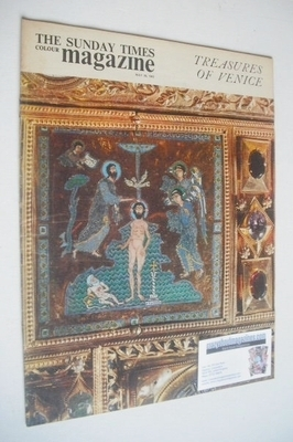 <!--1963-05-26-->The Sunday Times magazine - Treasures Of Venice cover (26