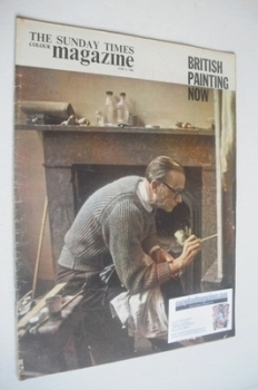 The Sunday Times magazine - British Painting Now cover (2 June 1963)