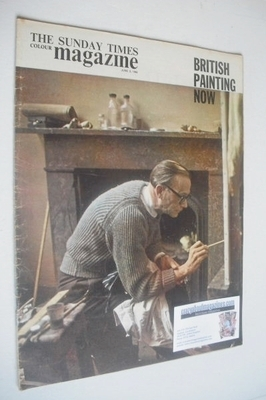 <!--1963-06-02-->The Sunday Times magazine - British Painting Now cover (2