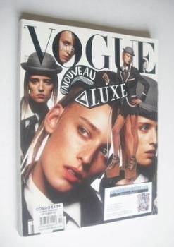 French Paris Vogue magazine - October 2002