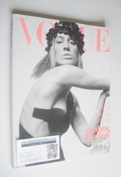 French Paris Vogue magazine - May 2001 - Natasa Vojnovic cover