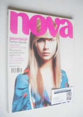 <!--2001-03-->Nova magazine - March 2001 - Ana Claudia cover