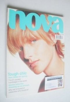 Nova magazine - April 2001 - Stella Tennant cover