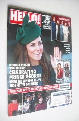 <!--2014-01-06-->Hello! magazine - Kate Middleton cover (6 January 2014 - I