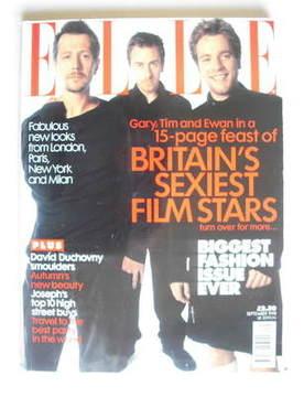 <!--1998-09-->British Elle magazine - September 1998 - Gary Oldman, Tim Rot