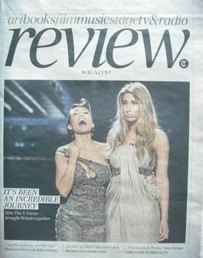 The Daily Telegraph Review newspaper supplement - 12 December 2009 - Dannii