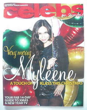 <!--2009-12-20-->Celebs magazine - Myleene Klass cover (20 December 2009)