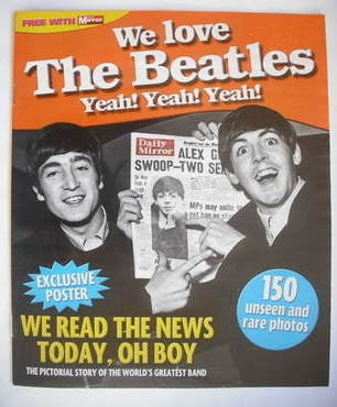 We Love The Beatles magazine supplement (2009)