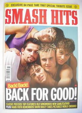 <!--2009-->Smash Hits magazine - Take That cover (2009)