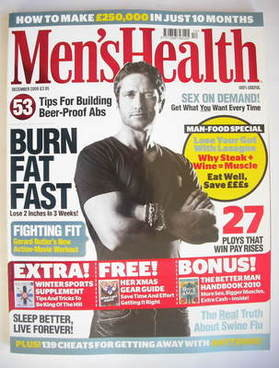 <!--2009-12-->British Men's Health magazine - December 2009 - Gerard Butler