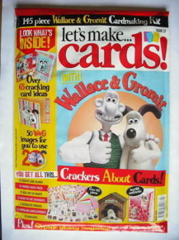 Let's Make Cards Wallace and Gromit Cardmaking Kit (2009 - Issue 27)