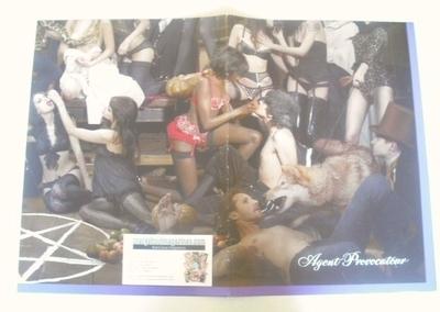 Agent Provocateur Lingerie Poster (2008)