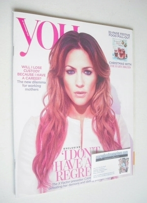 You magazine - Caroline Flack cover (24 November 2013)