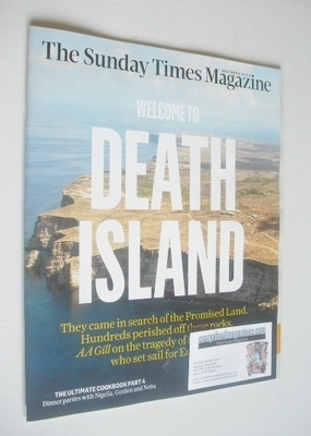 <!--2013-12-08-->The Sunday Times magazine - Welcome To Death Island cover