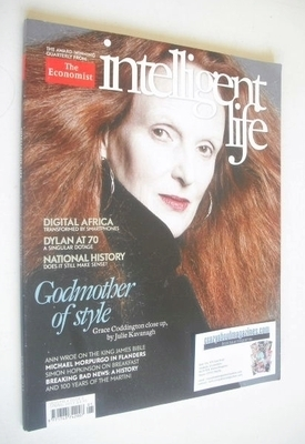 Intelligent Life magazine - Grace Coddington cover (Spring 2011)
