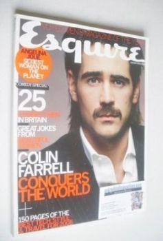 Esquire magazine - Colin Farrell cover (January 2005)