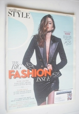 <!--2012-09-16-->Style magazine - Miranda Kerr cover (16 September 2012)