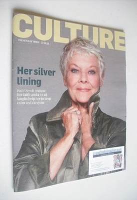 <!--2013-10-27-->Culture magazine - Judie Dench cover (27 October 2013)