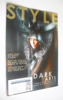 Style magazine - Dark Arts cover (27 October 2013)