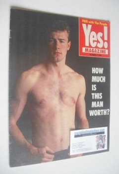 Yes magazine - Alan Shearer cover (9 October 1994)