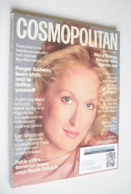 <!--1982-05-->Cosmopolitan magazine (May 1982 - Meryl Streep cover)