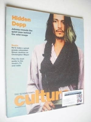 <!--2005-11-20-->Culture magazine - Johnny Depp cover (20 November 2005)