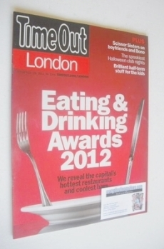 Time Out magazine - Eating and Drinking Awards 2012 (23-29 October 2012)