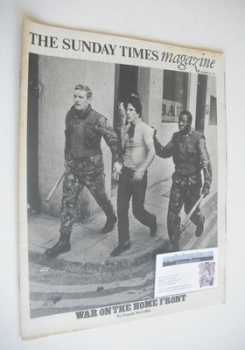 The Sunday Times magazine - War On The Home Front cover (19 December 1971)