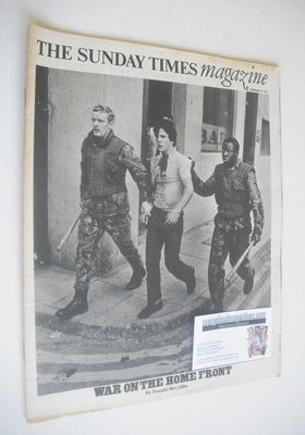 <!--1971-12-19-->The Sunday Times magazine - War On The Home Front cover (1