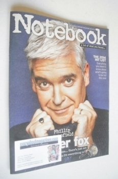 Notebook magazine - Phillip Schofield cover (5 January 2014)