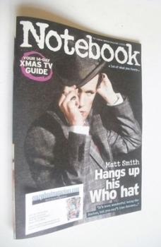 Notebook magazine - Matt Smith cover (22 December 2013)